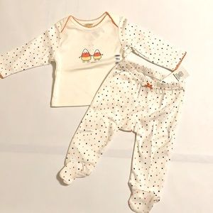 3/$25 NWT Old Navy Halloween Baby Set Size 3-6 Months